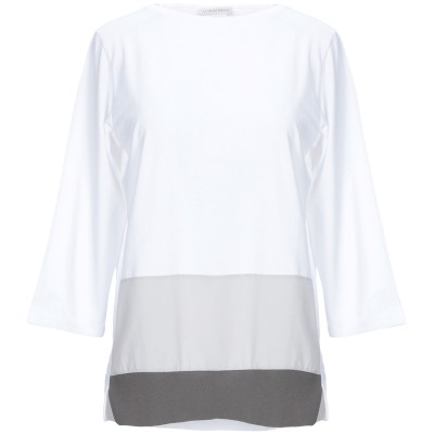 LE TRICOT PERUGIA T シャツ ホワイト L コットン 90% / ポリウレタン 10% T シャツ