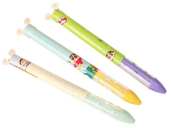 蠟筆小新~雙色原子筆(1支入) 款式可選【DS001406】