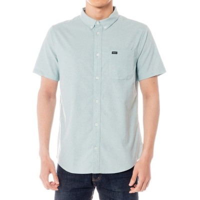 シャツ ブラウス RVCA メンズ  THATLL DO STRETCH SS ショートスリーブシャツ/半袖/ボタンダウンシャツ