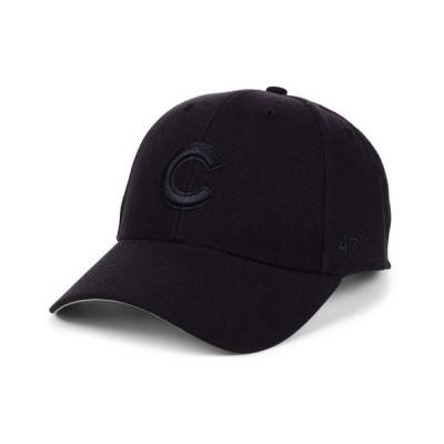 47ブランド メンズ 帽子 アクセサリー Chicago Cubs Black Series MVP Cap