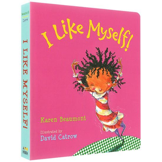 I Like Myself! 英文繪本 硬板繪本 心理成長繪本【歌德書店】