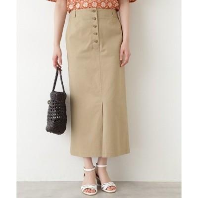 スカート Aラインロングスカート