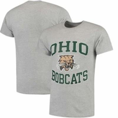 Champion チャンピオン スポーツ用品  Champion Ohio Bobcats Gray Tradition T-Shirt