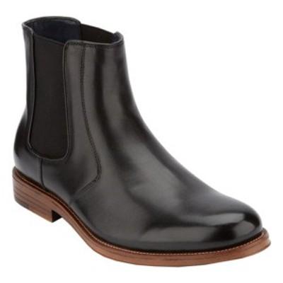 ドッカーズ メンズ ドレスシューズ シューズ Ashford Plain Toe Chelsea Boot (Men's) Black Polished Full Grain