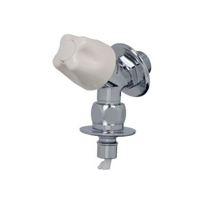 カクダイ GA-LA004 ガオナ 洗濯機用水栓 コンパクト ワンタッチ接続 ツバ・送り座つき 安心ストッパーつき GALA004