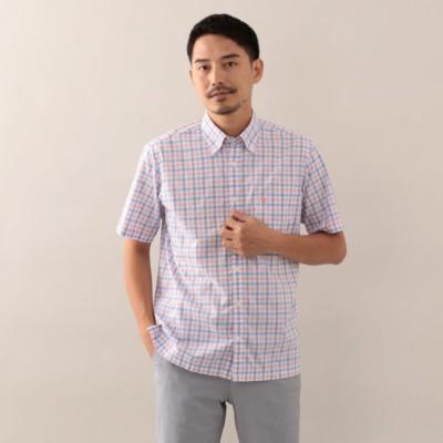 スラブヤーンチェックシャツ