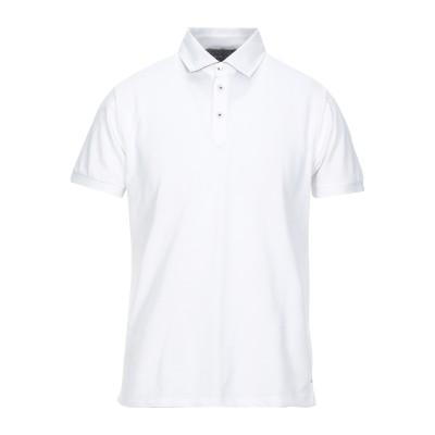 UNGARO ポロシャツ ホワイト M コットン 100% ポロシャツ