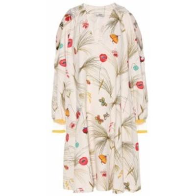 フェンディ Fendi レディース ワンピース ワンピース・ドレス printed dress Goose Color Block