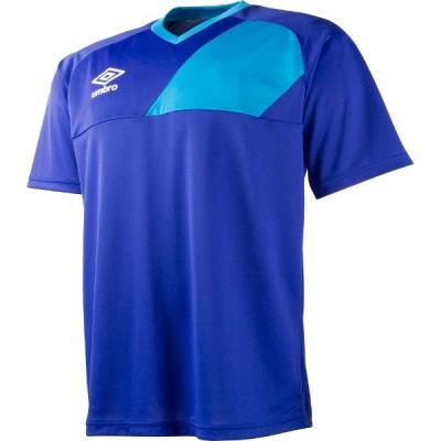 アンブロ サッカー トレーニングウェア ジュニア ディヴィジョンセカンダリーシャツ UBS7640J-BLU <2021CON>