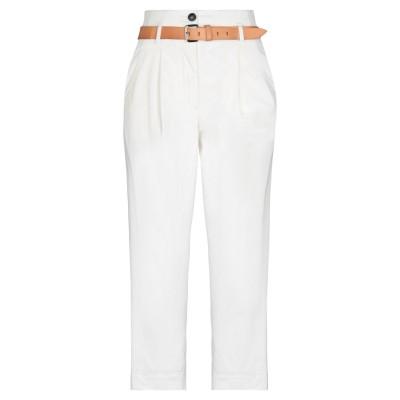 テーラ TELA パンツ ホワイト 44 コットン 97% / ポリウレタン 3% パンツ