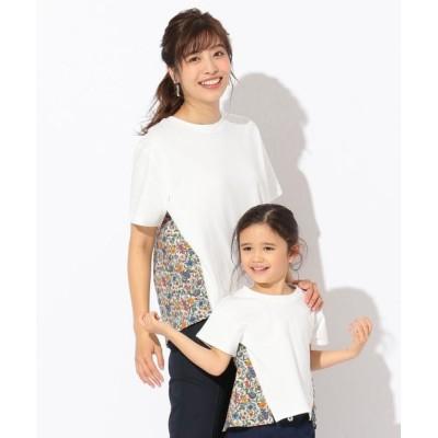any FAM / 【親子でお揃い】リバティプリントフレア Tシャツ WOMEN トップス > Tシャツ/カットソー