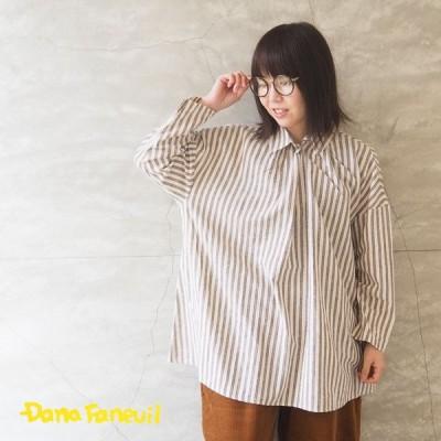 ダナファヌル DANA FANEUIL シャツ レディース チュニックシャツ D-6320402 ブラウス