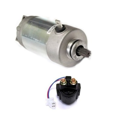 Caltric Starter & Relay Solenoid Compatible With YAMAHA GRIZZLY 125 YF