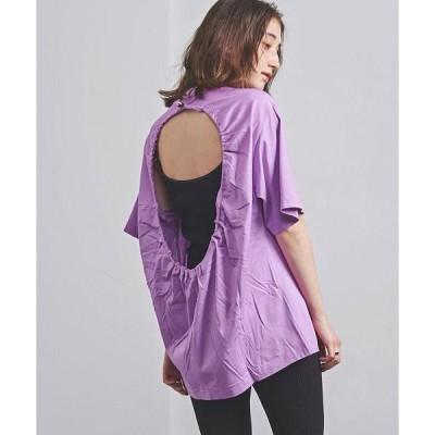 tシャツ Tシャツ <TOGA PULLA(トーガ プルラ)>バックオープン Tシャツ