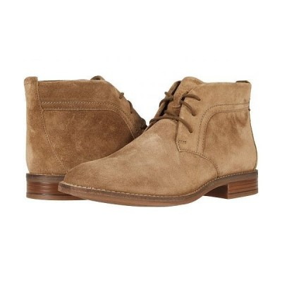 Clarks クラークス レディース 女性用 シューズ 靴 ブーツ アンクル ショートブーツ Camzin Grace - Taupe Suede