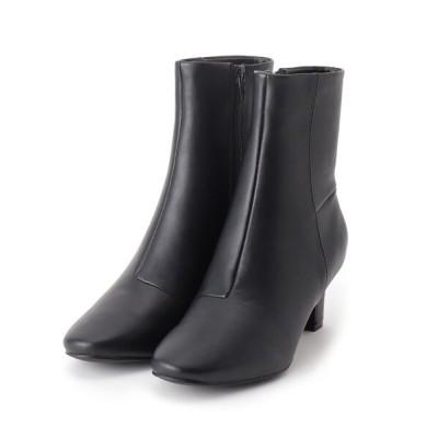 HusHusH / 【WEB限定カラーあり】 アーモンドトゥミドルヒールブーツ WOMEN シューズ > ブーツ