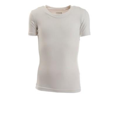 パフォーマンスギア(PG)サッカーウェア ジュニア ストレッチ丸首 半袖Tシャツ 742PG9ES4535 WHT