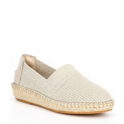 コールハーン レディース スニーカー シューズ Cloudfeel Stitchlite Knit Slip On Espadrilles Hawthorn/Gold Metallic Knit