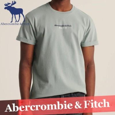 アバクロンビー&フィッチ Tシャツ 半袖 メンズ ロゴ トップス カットソー XS〜XXL 新作 アバクロ