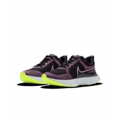 ナイキ レディース スニーカー シューズ Women's React Infinity Run Flyknit 2 Running Sneakers from Finish Line Violet Dust Black C