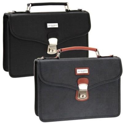 ビジネス・ブリーフケース (オリジン) バッグ 1570127 豊岡市製 日本製 ヴァレンチノ・サバティーニ 合成皮革 ブラック ネイビー