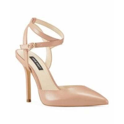 ナインウェスト レディース パンプス シューズ Brya Women's Ankle Strap Pumps Blush Leather
