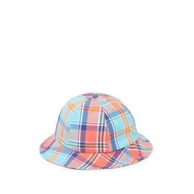オベイ メンズ 帽子 アクセサリー Arthur Plaid Bucket Hat TEAL MULTI