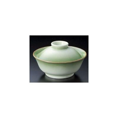 和食器緑翠蓋向(小)/大きさ13.3×8cm