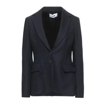 マウロ グリフォーニ MAURO GRIFONI テーラードジャケット ダークブルー 44 バージンウール 98% / ポリウレタン 2% テーラー