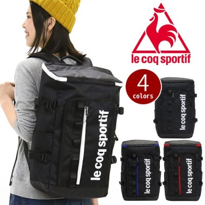 le coq sportif ルコック スポルティフ リュック リュックサック スクエアリュック デイパック バックパック バッグ かばん メンズ レディース 男女兼用 通学 通勤