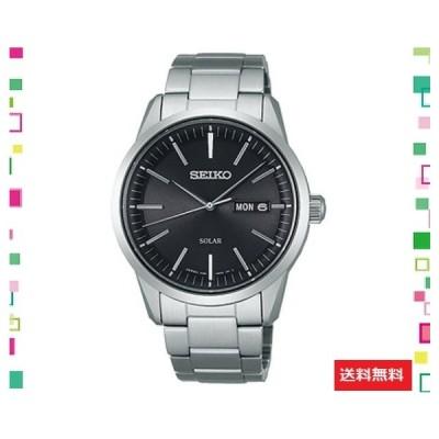 [セイコーウォッチ] 腕時計 スピリット スピリットスマート ソーラー サファイアガラス 耐磁時計 らくらくアジ