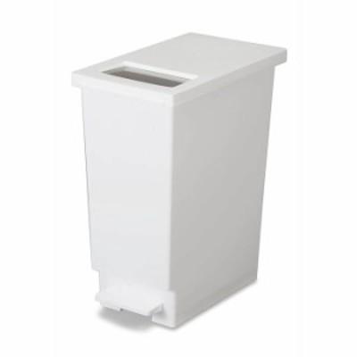 トンボ ユニード ゴミ箱 プッシュ & ペダルペール ホワイト 30S TONBO 白 ダストボックス ごみ箱
