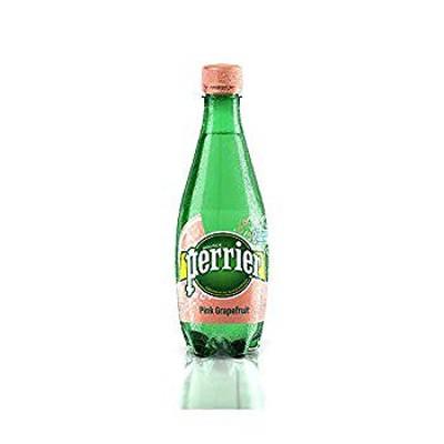 ペリエ (Perrier) ピンクグレープフルーツ 炭酸水 PET 500ml 「直輸入品] ×24本