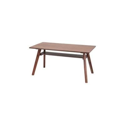 東谷/あづまや【メーカー直送代引不可】  天板150×80cm 天然木 ダイニングテーブル ブラウン AC-E911BR