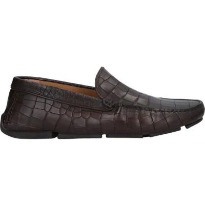 マニラ MANILA メンズ ローファー シューズ・靴 loafers Dark brown