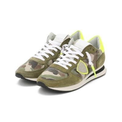 RAWLIFE / PHILIPPE MODEL/フィリップモデル/TROPEZ X camouflage/トロぺエックスカモフラージュ/1115-TRPXCN MEN シューズ > スニーカー
