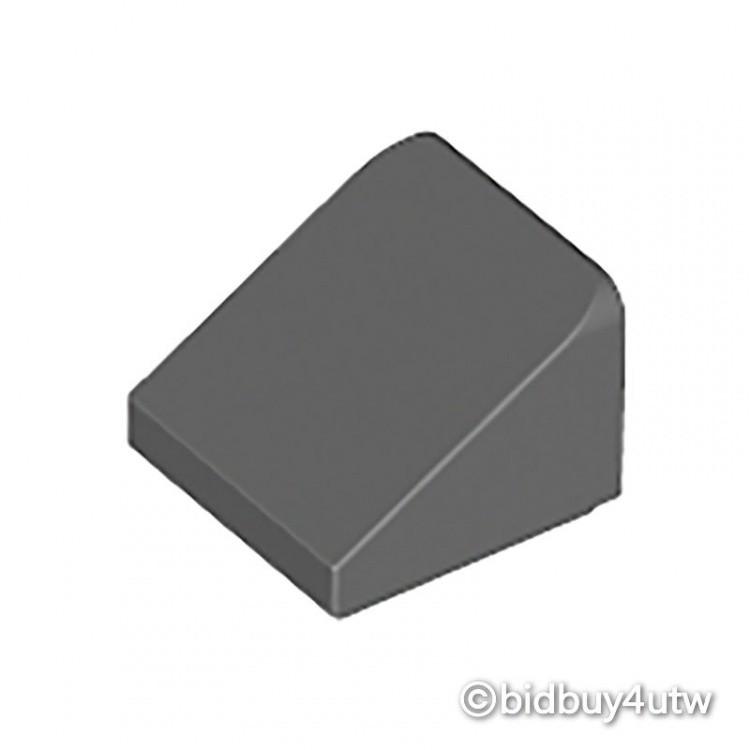 LEGO零件 斜向磚 1x1x2/3 54200 深灰色 4504378【必買站】樂高零件