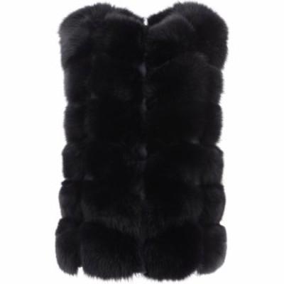 フレーム Frame レディース ジャケット アウター Reversible Fur Jacket Black