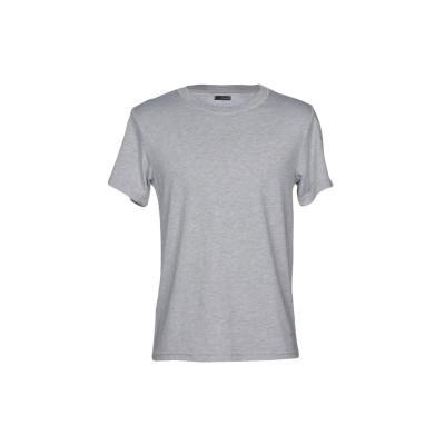 プラスピープル (+) PEOPLE T シャツ ライトグレー XL 100% コットン T シャツ