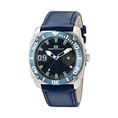 Oceanaut Men's OC1342 Barletta Analog Display Swiss Quartz Blue Watch