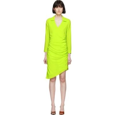 ミャオ Miaou レディース ワンピース ラップドレス ワンピース・ドレス Green Vanessa Wrap Dress Acid lime
