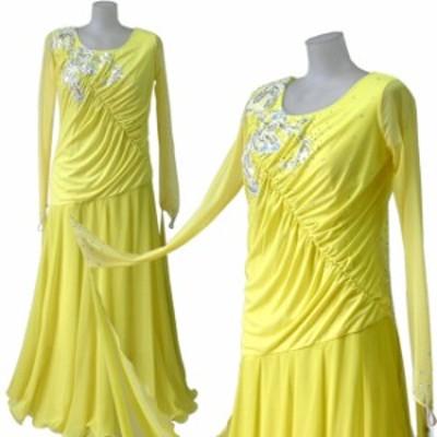 ダンス衣装 カラオケ衣装 スパンコールドレス 舞台衣装 ステージ衣装 シフォンロ