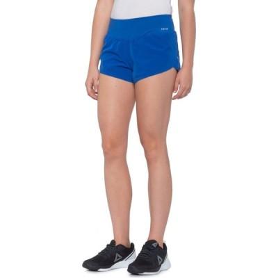 ハインド Hind レディース ヨガ・ピラティス ショートパンツ ボトムス・パンツ Yoga Web Lazer Cut Shorts - Built-in Brief Bol
