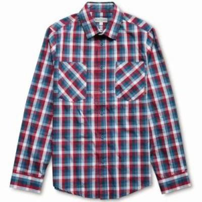 エトニーズ シャツ Casmynn L/S Shirt Red/Navy