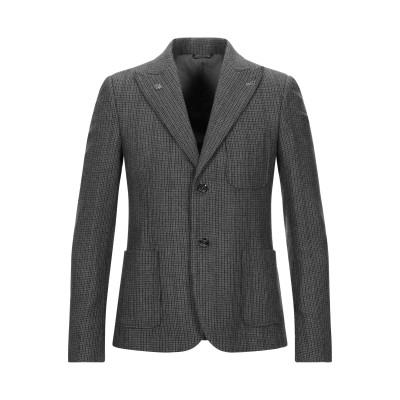 グレイ ダニエレ アレッサンドリーニ GREY DANIELE ALESSANDRINI テーラードジャケット グレー 48 ウール 42% / ポ