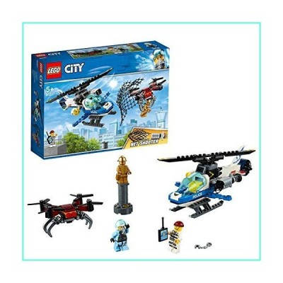 LEGO City Police Sky Police Drone Chase Set, Toy Helicopter & Drone, Police Toys for Kids並行輸入品