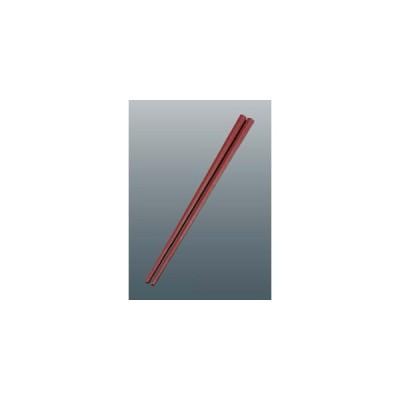 【納期目安:1週間】EBM-7154300 五角形箸 S CS-225 赤 22.5cm (EBM7154300)
