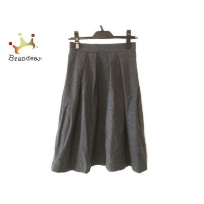 エリザ ELISA スカート サイズ1 S レディース 美品 グレー   スペシャル特価 20200618
