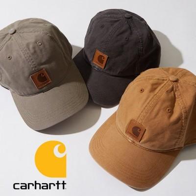 Carhartt カーハート キャップ メンズ オデッサキャップ ODESSA CAP 帽子 ベースボールキャップ ブランド ロゴ ブラック ブラウン
