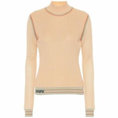 フェンディ Fendi レディース ニット・セーター トップス Silk knit turtleneck top Prevert